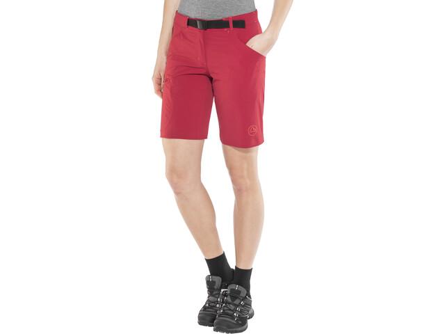 La Sportiva Acme Bermuda Shorts Mujer, berry